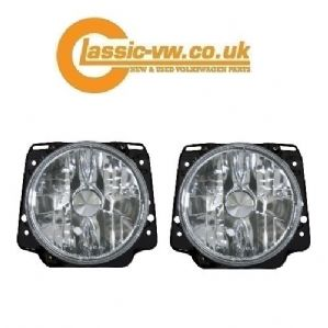 Mk2 Golf Crystal Clear Headlight 191941753C (LHD)